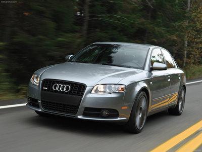 Audi A4 [US] 2008 poster #1405676
