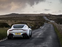 Aston Martin Vantage Morning Frost White 2019 poster