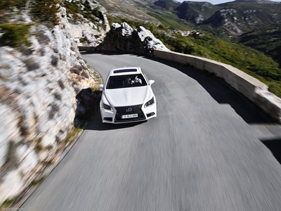 Lexus LS [EU] 2013 poster #1411960