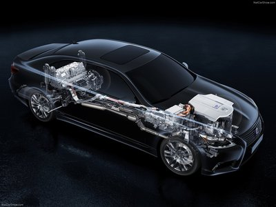 Lexus LS [EU] 2013 poster #1411983