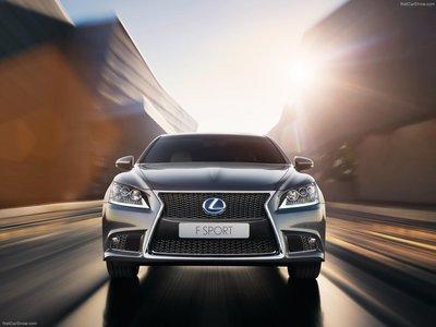Lexus LS [EU] 2013 poster #1412067