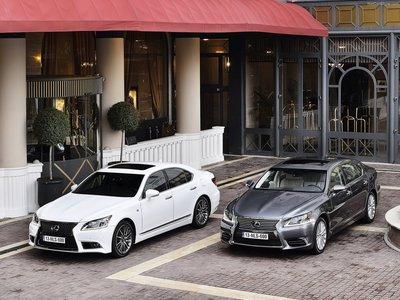 Lexus LS [EU] 2013 poster #1412078