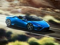 Lamborghini Huracan Evo RWD Spyder 2021 poster