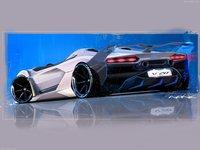 Lamborghini SC20 2020 poster