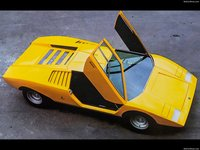 Lamborghini Countach LP500 Concept 1971 poster
