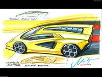 Lamborghini Countach LPI 800-4 2022 poster