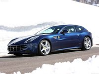 Ferrari FF Blue 2012 poster