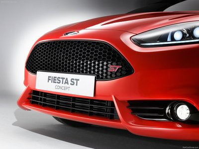 Ford Fiesta St Concept 2011 Poster 23054 Printcarposter