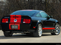 Ford Mustang Shelby GT500 Red Stripe 2007 poster