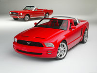 Ford Mustang GT Convertible Concept 2003 poster