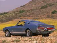 Ford Mustang Shelby GT500 1967 poster