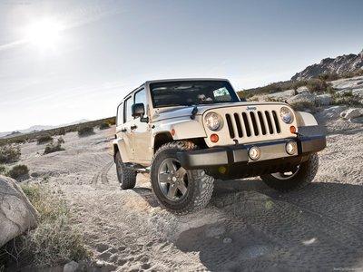 Jeep Wrangler Mojave 2011 poster #32118