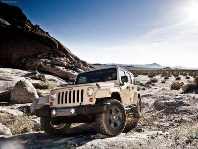 Jeep Wrangler Mojave 2011 poster #32119