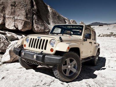 Jeep Wrangler Mojave 2011 poster #32121