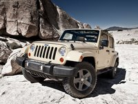 Jeep Wrangler Mojave 2011 poster