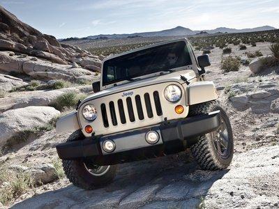 Jeep Wrangler Mojave 2011 poster #32122