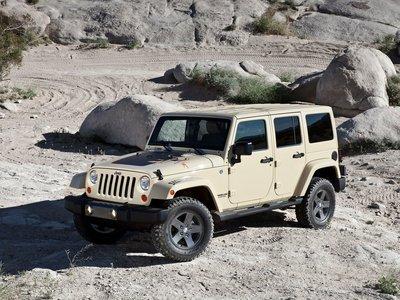 Jeep Wrangler Mojave 2011 poster #32126