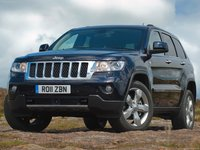 Jeep Grand Cherokee UK Version 2011 poster