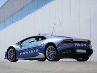 Lamborghini Huracan LP610 4 Polizia 2015 poster