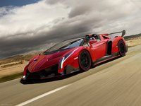 Lamborghini Veneno Roadster 2014 poster