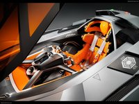 Lamborghini Egoista Concept 2013 poster