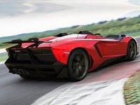 Lamborghini Aventador J Concept 2012 poster