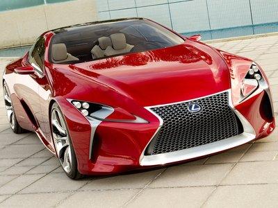 Lexus LF LC Concept 2012 poster #35307
