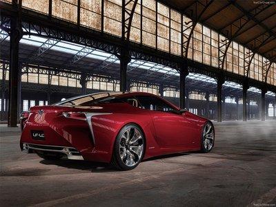 Lexus LF LC Concept 2012 poster #35308