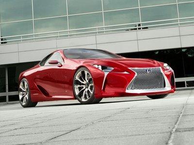 Lexus LF LC Concept 2012 poster #35309