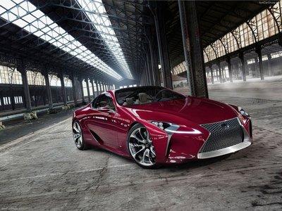 Lexus LF LC Concept 2012 poster #35310