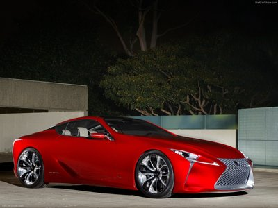 Lexus LF LC Concept 2012 poster #35314