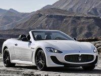 Maserati GranCabrio MC 2013 poster