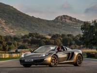 McLaren MP4 12C Spider 2013 poster