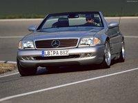 Mercedes Benz SL73 AMG 1999 poster
