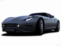 LCC Lightning GT Concept 2008 poster