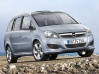 Opel Zafira 2008 poster