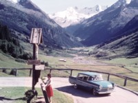 Opel Kapitan 1959 poster