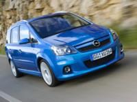 Opel Zafira OPC 2006 poster