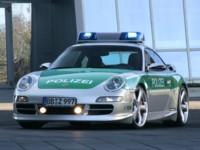TechArt Porsche 911 Carrera S Police Car 2006 poster