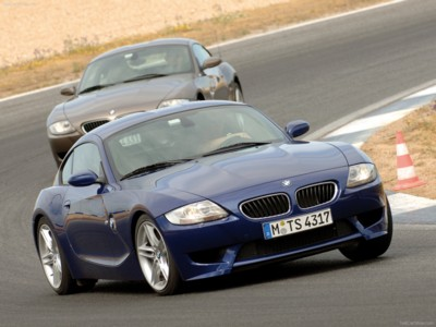 BMW Z4 M Coupe 2006 poster #525305 - PrintCarPoster.com