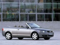 Audi A4 Cabriolet 1.8 T 2002 poster