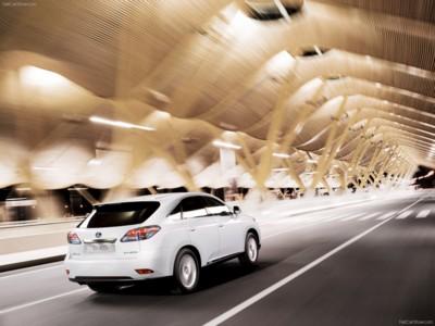 Lexus RX 450h 2010 poster #537219