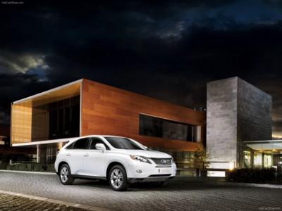 Lexus RX 450h 2010 poster #537842