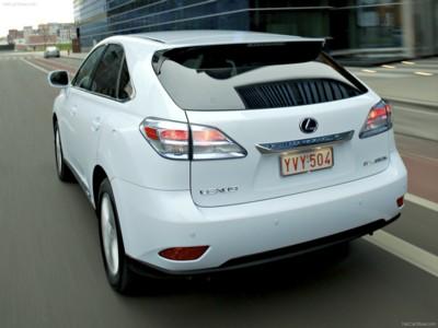 Lexus RX 450h 2010 poster #537933