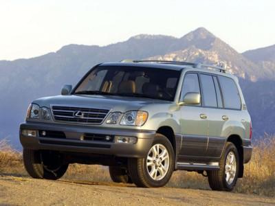 Lexus LX470 2003 poster #538324