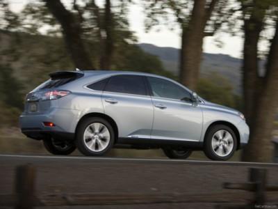 Lexus RX 450h 2010 poster #538385