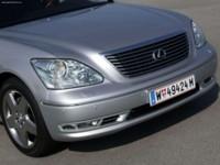 Lexus LS430 European Version 2004 poster