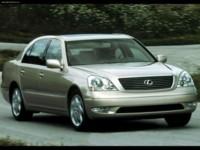 Lexus LS430 2001 poster