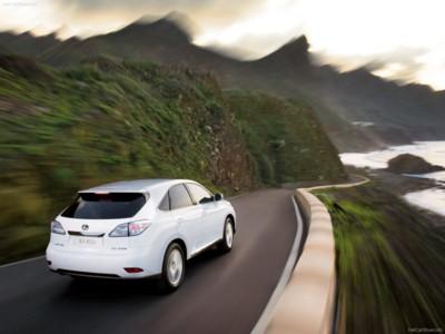 Lexus RX 450h 2010 poster #539330