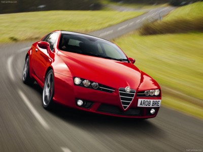 Alfa Romeo Brera S 2009 Poster 543330 Printcarposter
